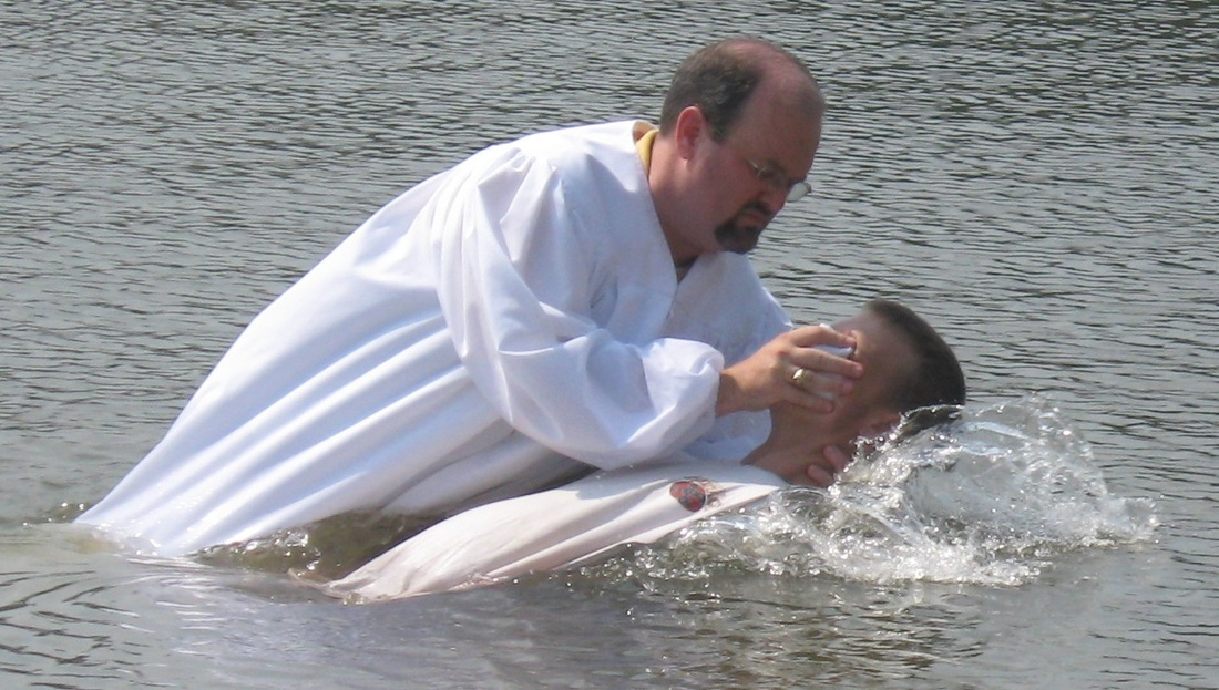 Types of Baptism - Baptism